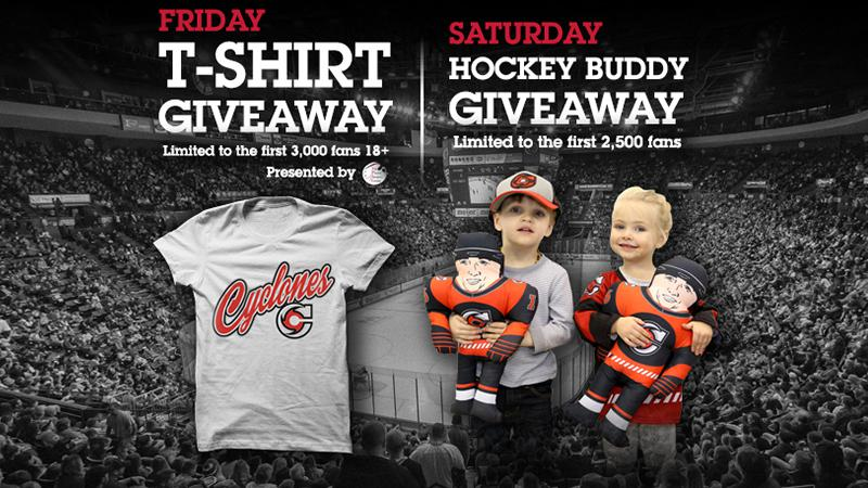T-Shirt Giveaway and Hockey Buddy Giveaway This Weekend