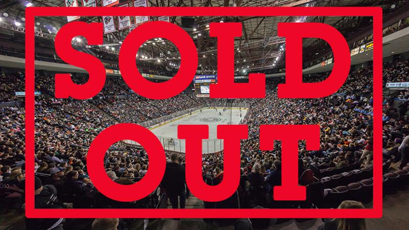 CYCLONES ANNOUNCE SELLOUT FOR WEEKEND FINALE