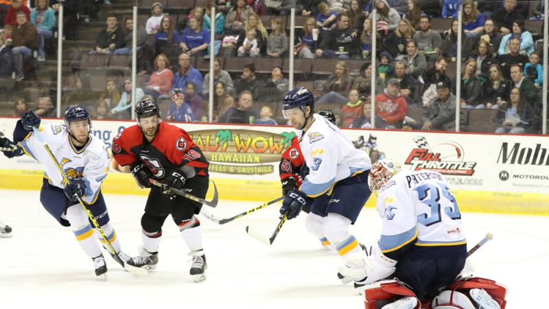 RECAP: CYCLONES UNABLE TO CONTAIN WALLEYE IN REGULAR SEASON HOME FINALE