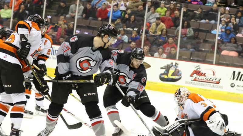 CYCLONES TO TAKE ON KOMETS IN KELLY CUP FIRST ROUND