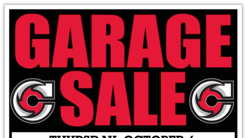 Cyclones Garage Sale Tomorrow