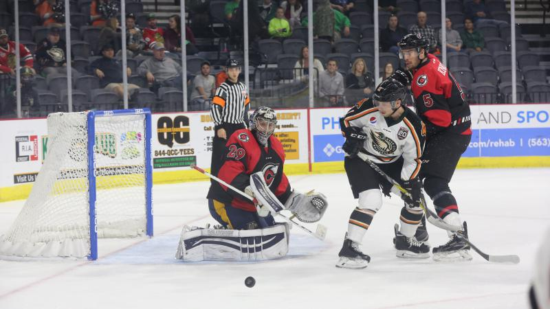RECAP: VISENTIN PERFECT AS CYCLONES EARN SHUTOUT