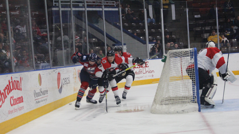RECAP: CYCLONES FALL IN FINALE OF THREE-GAME WEEKEND