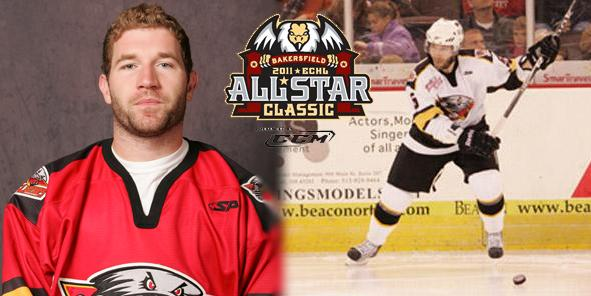 Brian O'Hanley Named Alternate Captain for ECHL All-Star Classic