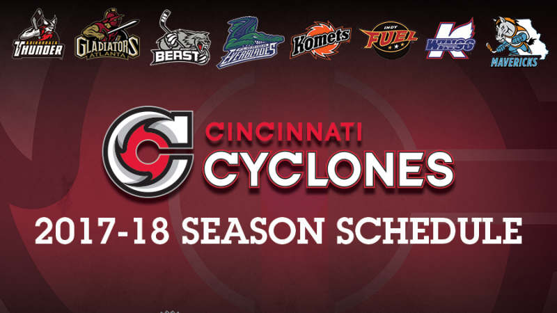 CYCLONES ANNOUNCE 2017-18 SCHEDULE