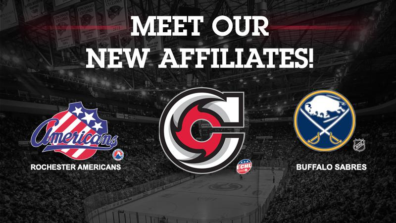 CYCLONES AGREE ON AFFILIATION WITH BUFFALO SABRES