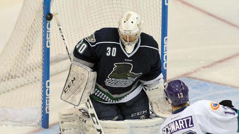 CYCLONES BOLSTER GOALTENDING WITH ADDITION OF PETERS