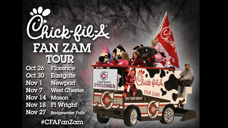 Cyclones Announce Chick-fil-A FanZam Tour