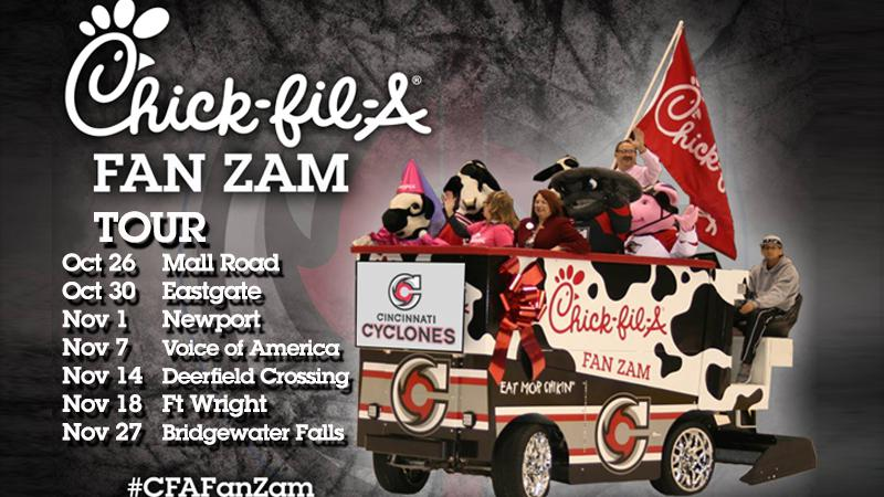 Cyclones Announce Chick-fil-A FanZam Tour