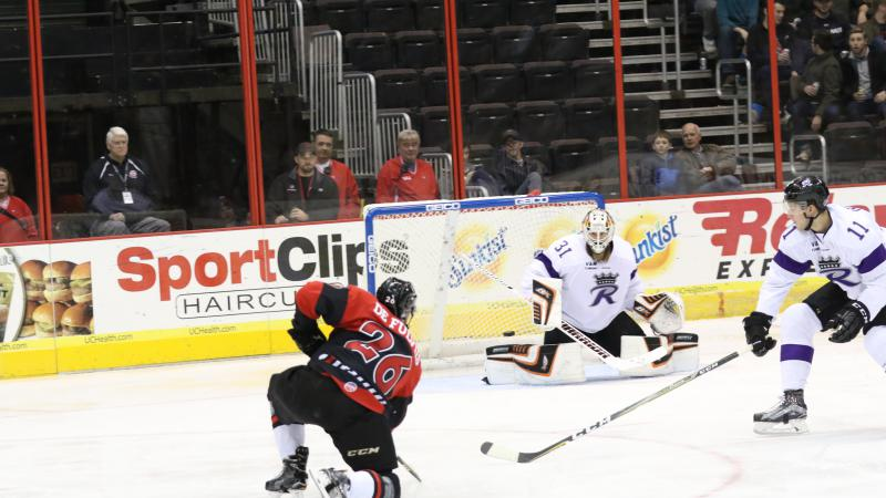 CYCLONES HOLD OFF READING FOR FOURTH STRAIGHT WIN