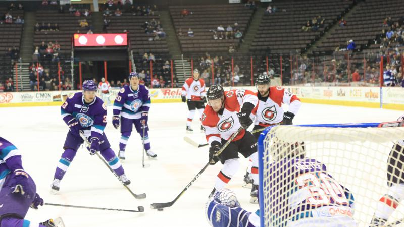 CYCLONES UPENDED AT HOME AS ORLANDO COMPLETES SWEEP