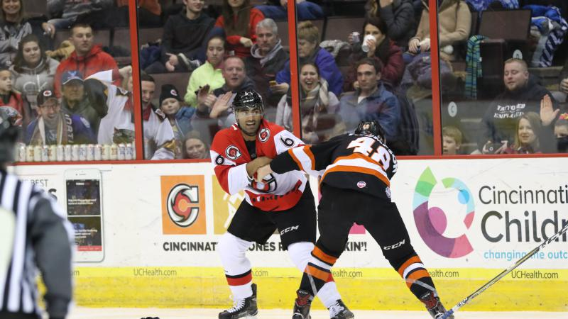 CYCLONES VICTORIOUS OVER RIVAL KOMETS