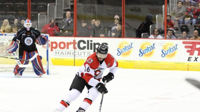 O'DONNELL RECEIVES AHL CALL UP