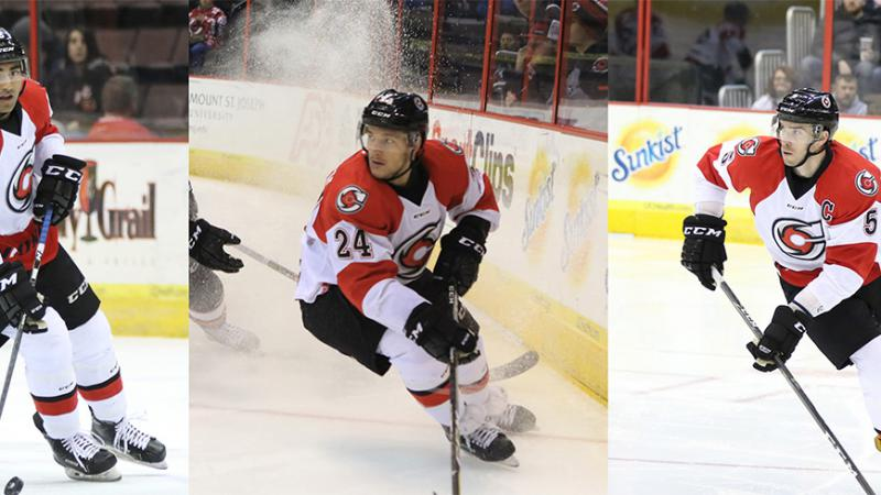 TRIO REASSIGNED BY ROCHESTER