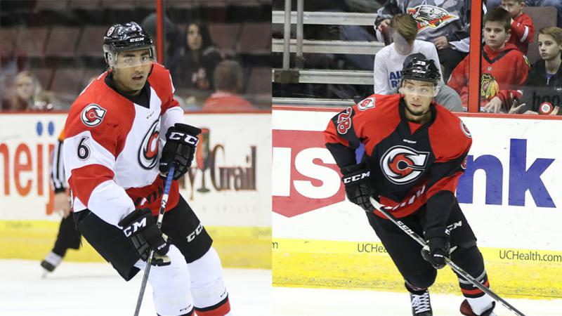 DEFENSIVE PAIR RECALLED TO ROCHESTER