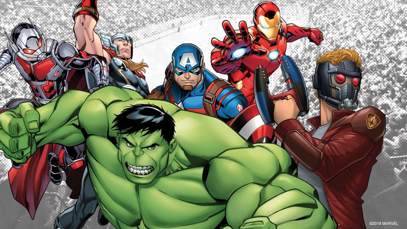 Marvel Characters To Appear at Super Hero Weekend