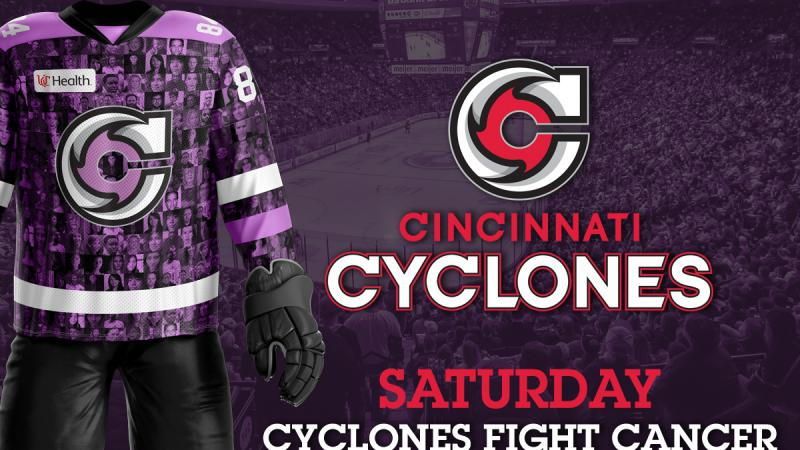CYCLONES PREPARE TO FIGHT CANCER