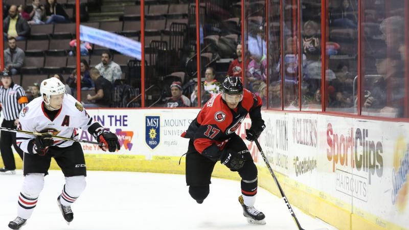 DAY CHIEF'S NATURAL HAT TRICK PROPELS CYCLONES TO VICTORY
