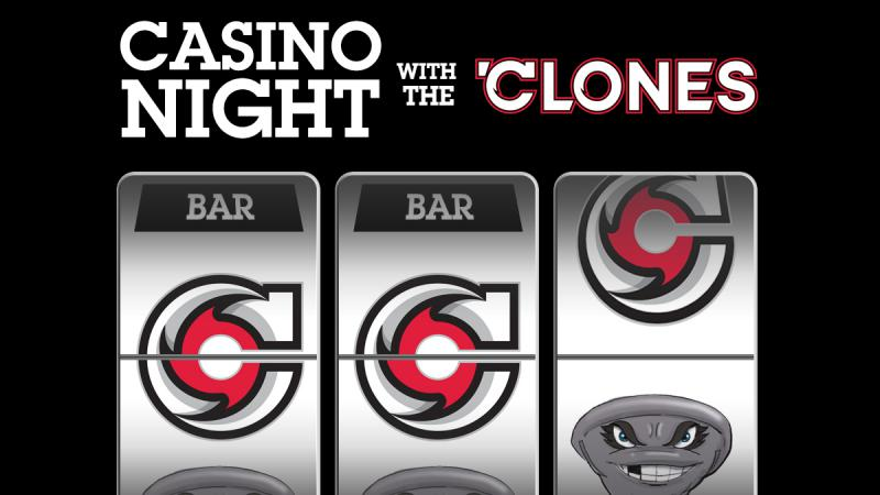 CYCLONES ANNOUNCE CASINO NIGHT WITH THE 'CLONES