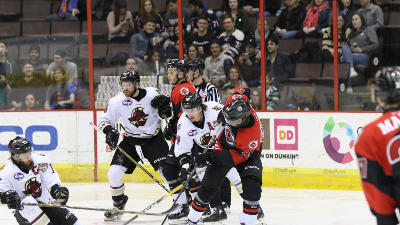 CYCLONES SPARKED BY GLADIATORS