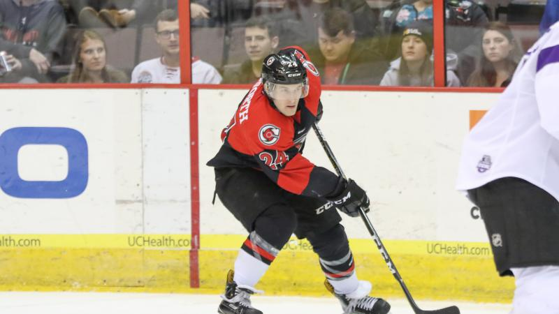 DANFORTH NAMED TO ECHL ALL-ROOKIE SQUAD