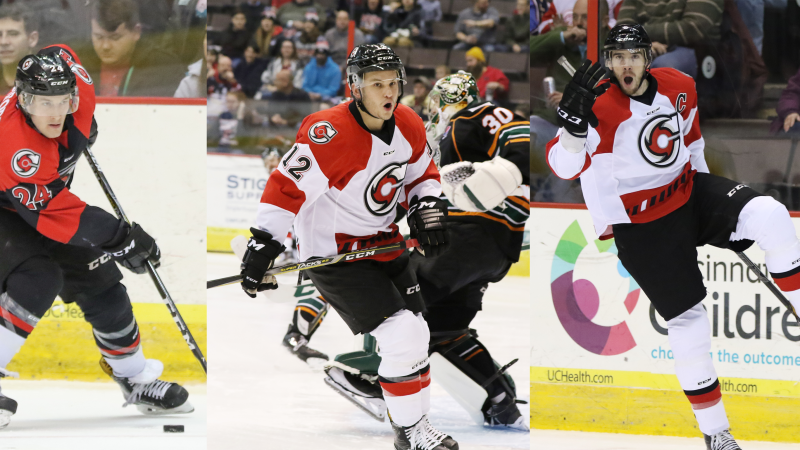 CYCLONES TRIO NAMED TO ALL-ECHL SECOND TEAM