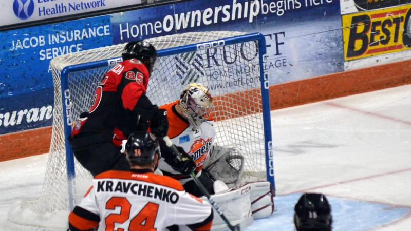 CYCLONES FALL IN GAME 1 MARATHON
