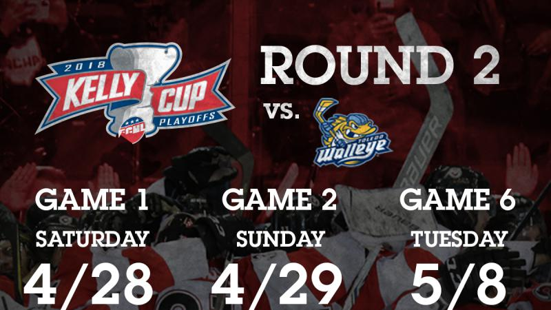 CYCLONES ANNOUNCE SECOND ROUND PLAYOFF DATES