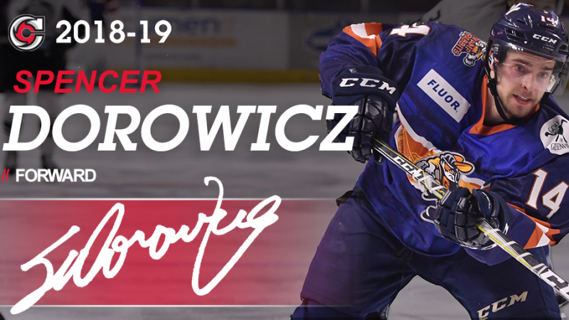 CYCLONES SIGN DOROWICZ FOR 2018-19
