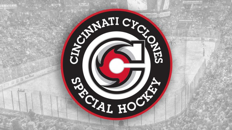 CYCLONES PARTNER WITH CINCINNATI SPECIAL HOCKEY