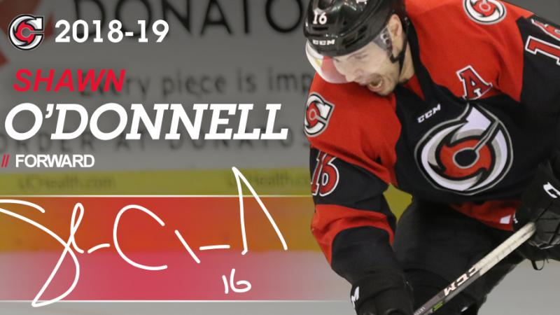 O'DONNELL BACK FOR THIRD SEASON IN CINCINNATI