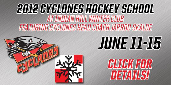Introducing the 2012 Cyclones Hockey School at Indian Hill Winter Club!!