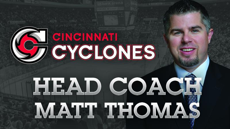 THOMAS NAMED CYCLONES HEAD COACH