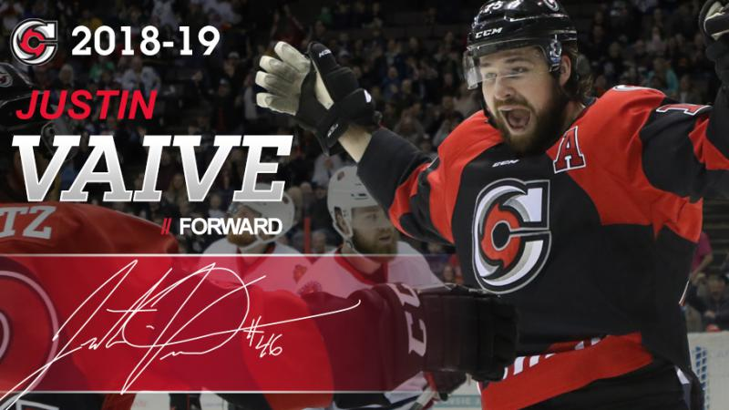 VAIVE RETURNS TO CINCINNATI