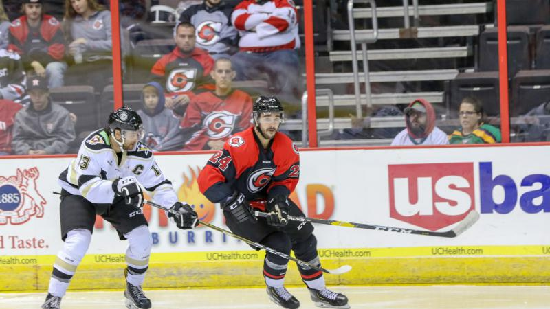 CYCLONES OVERCOME BY NAILERS IN WEEKEND FINALE