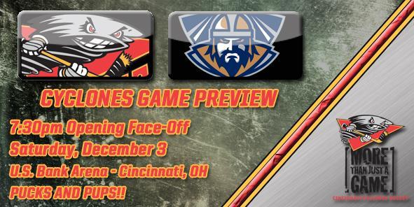 Cyclones Game Preview: Cincinnati vs. Greenville