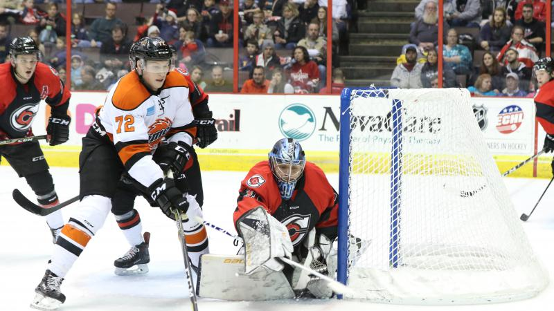 CYCLONES SNAP SKID IN DECISIVE WIN OVER KOMETS