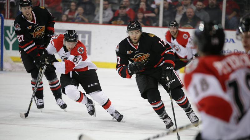 CYCLONES POINT STREAK SNAPPED IN ROAD LOSS