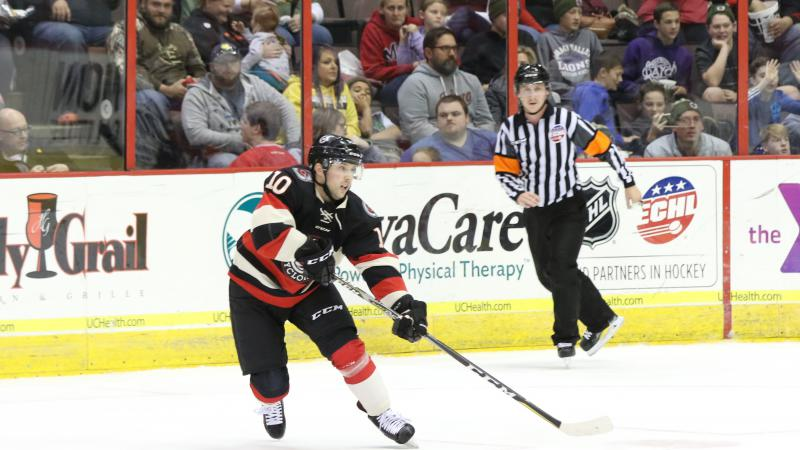 WIDEMAN NAMED ECHL CO-PLUS PERFORMER OF THE MONTH