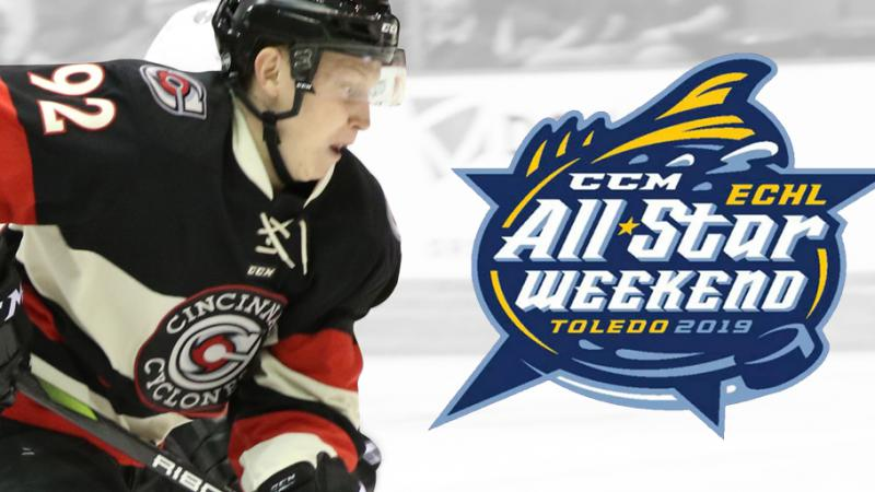GLOTOV NAMED TO THE CCM/ECHL ALL-STAR CLASSIC