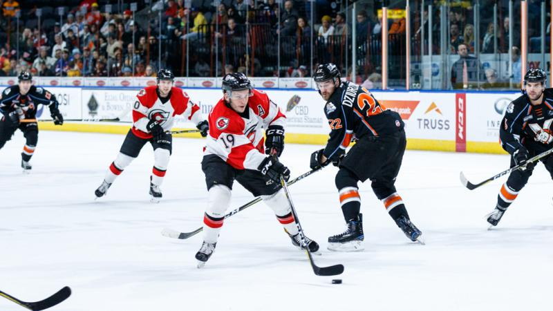 CYCLONES OVERCOME DEFICIT LATE, FALL IN OVERTIME IN WEEKEND OPENER