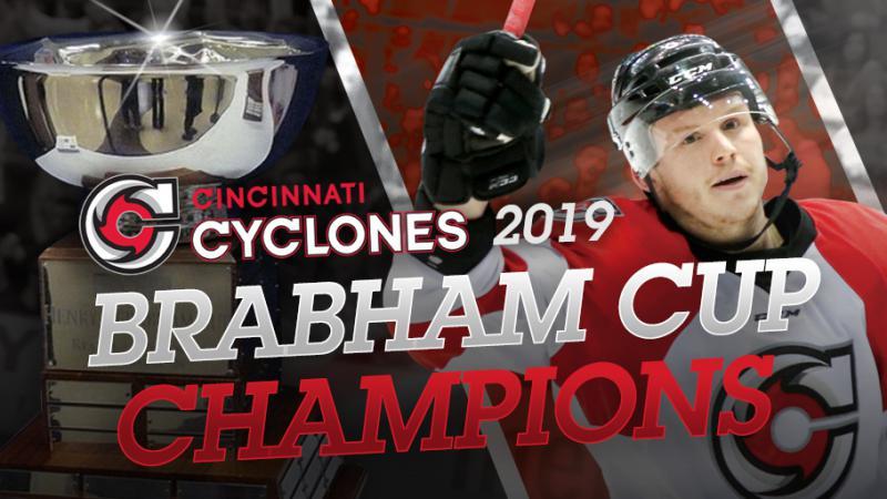 CYCLONES CLAIM BRABHAM CUP
