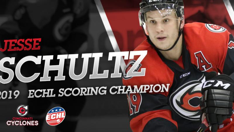 SCHULTZ EARNS ECHL LEAGUE SCORING TITLE