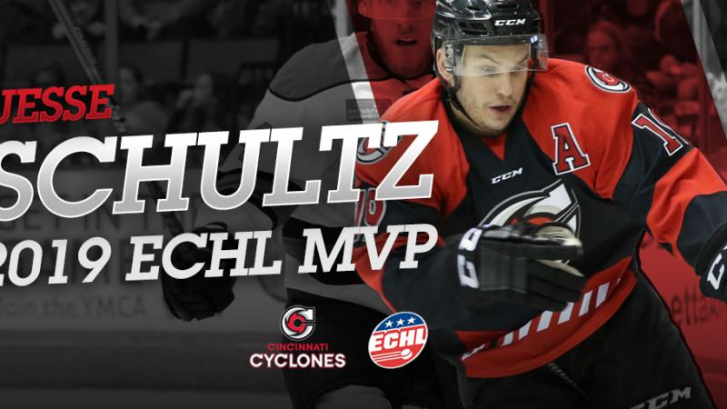 SCHULTZ NAMED CCM ECHL MOST VALUABLE PLAYER
