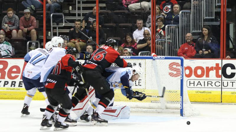 CYCLONES COME BACK LATE, LOSE GAME 1 IN FINAL MINUTE