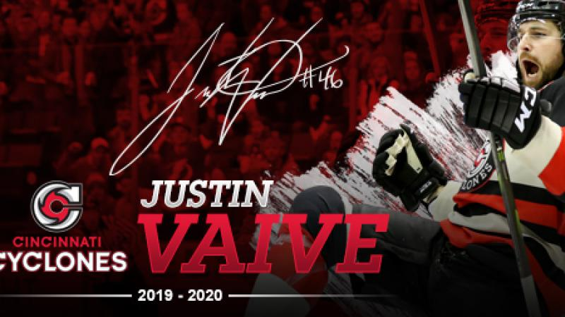 VAIVE RETURNS FOR 2019-20 SEASON