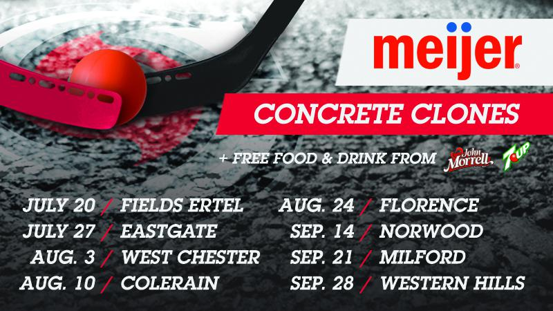 DATES SET FOR 2019 MEIJER CONCRETE CLONES SUMMER TOUR