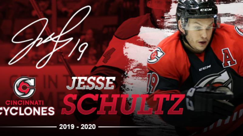 SCHULTZ BACK FOR 2019-20