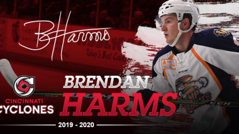 HARMS SIGNED FOR 2019-20