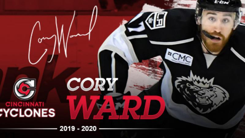 CYCLONES ADD WARD FOR 2019-20 CAMPAIGN